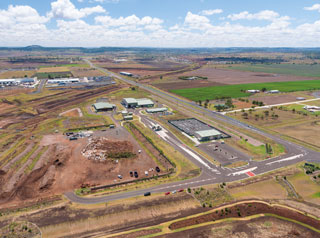 Toowoomba Waste Facility aerial photo