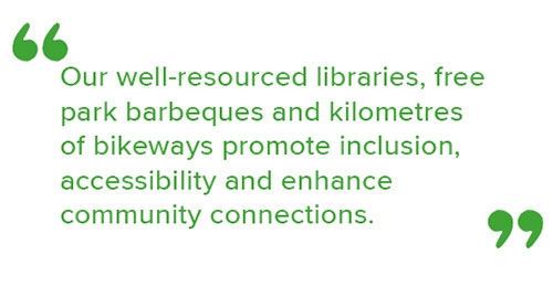 Mayor's highlighted quote about resourcing