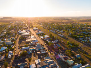 Pittsworth aerial