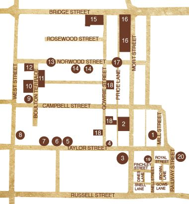Mort estate walk map
