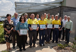 Toowoomba Region's annual Waste Facility Garden Competition.