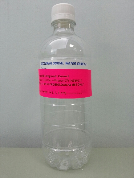 Bottle for microbiology