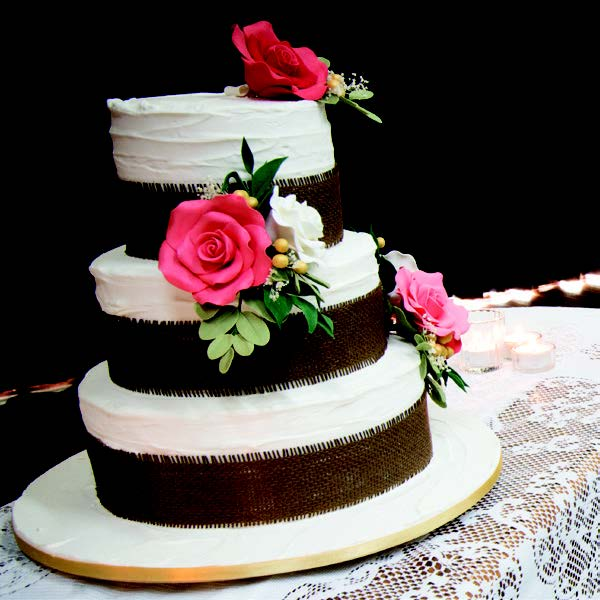 Oakey Cultural Centre wedding cake