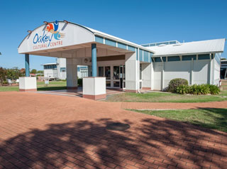 Front of the Oakey Cultural Centre