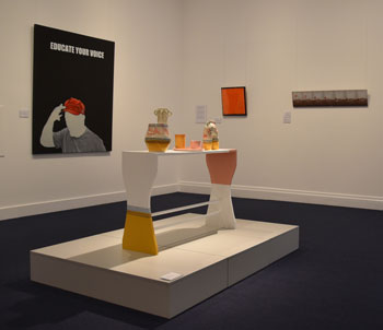 Toowoomba Biennial Emerging Artist Award and exhibition installation view